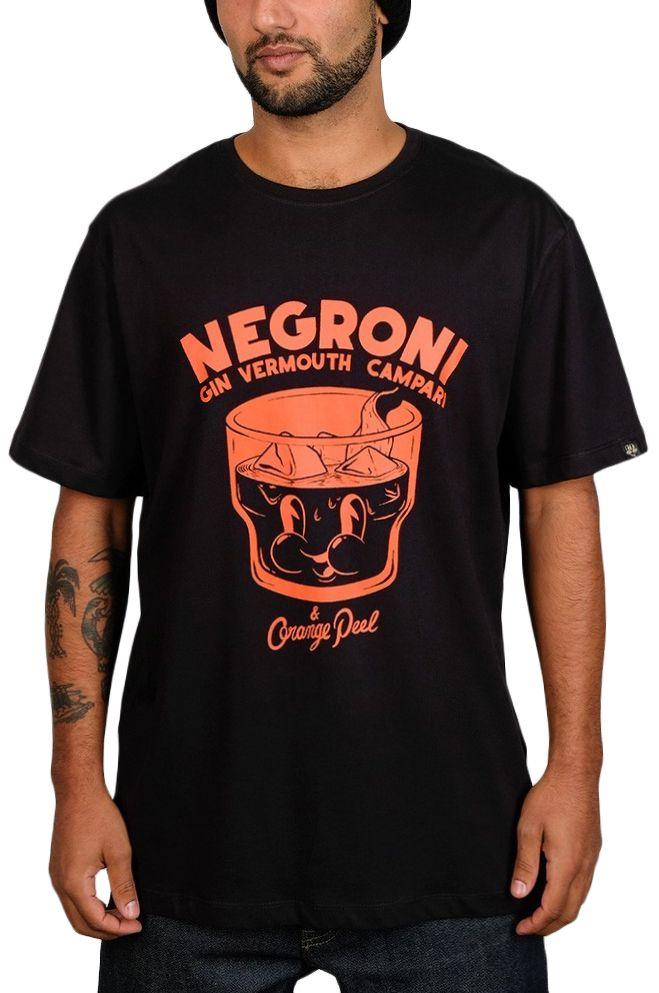 T-Shirt The Dudes NEGRONI Caviar