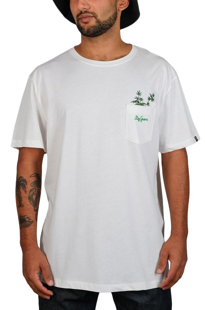 T-Shirt The Dudes PLANT FOR FUTURE Off-White