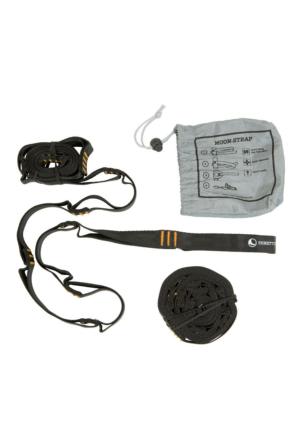 DV Ticket To The Moon MOONSTRAPS WEBBING (2 X 250 CM; PAIR) Assorted
