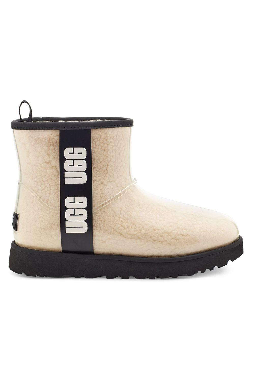 Ugg Boots CLASSIC CLEAR MINI Natural/Black