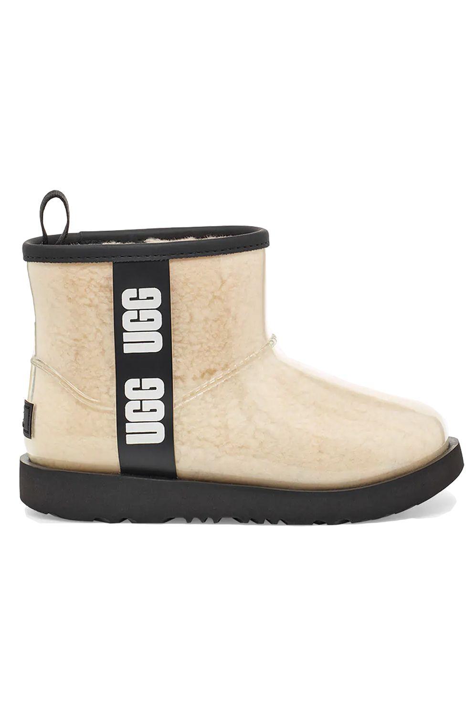 Ugg Boots CLASSIC CLEAR MINI II Natural/Black
