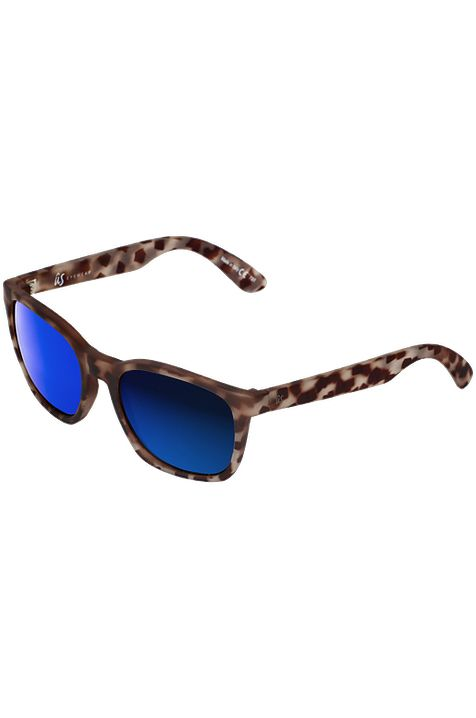Oculos US BARYS Matte Vintage Tort/Grey Blue Chrome