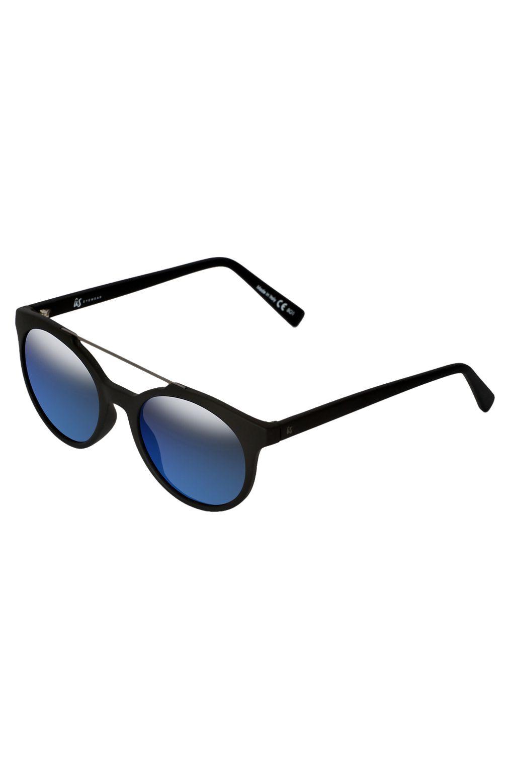 Oculos US CALIX Matte Black/Grey Blue Chrome