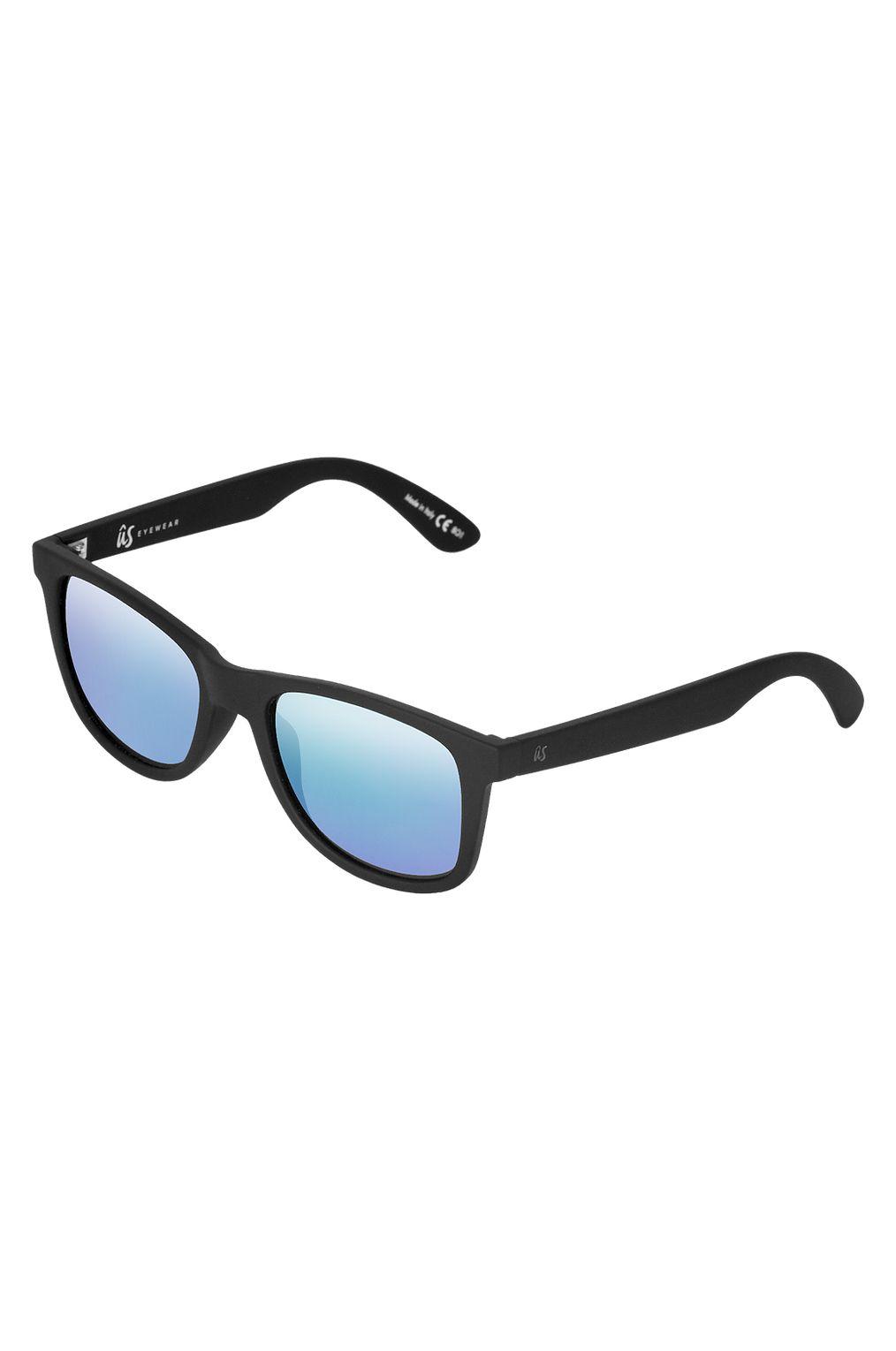 Oculos US MATY Matte Black/Grey Blue Chrome