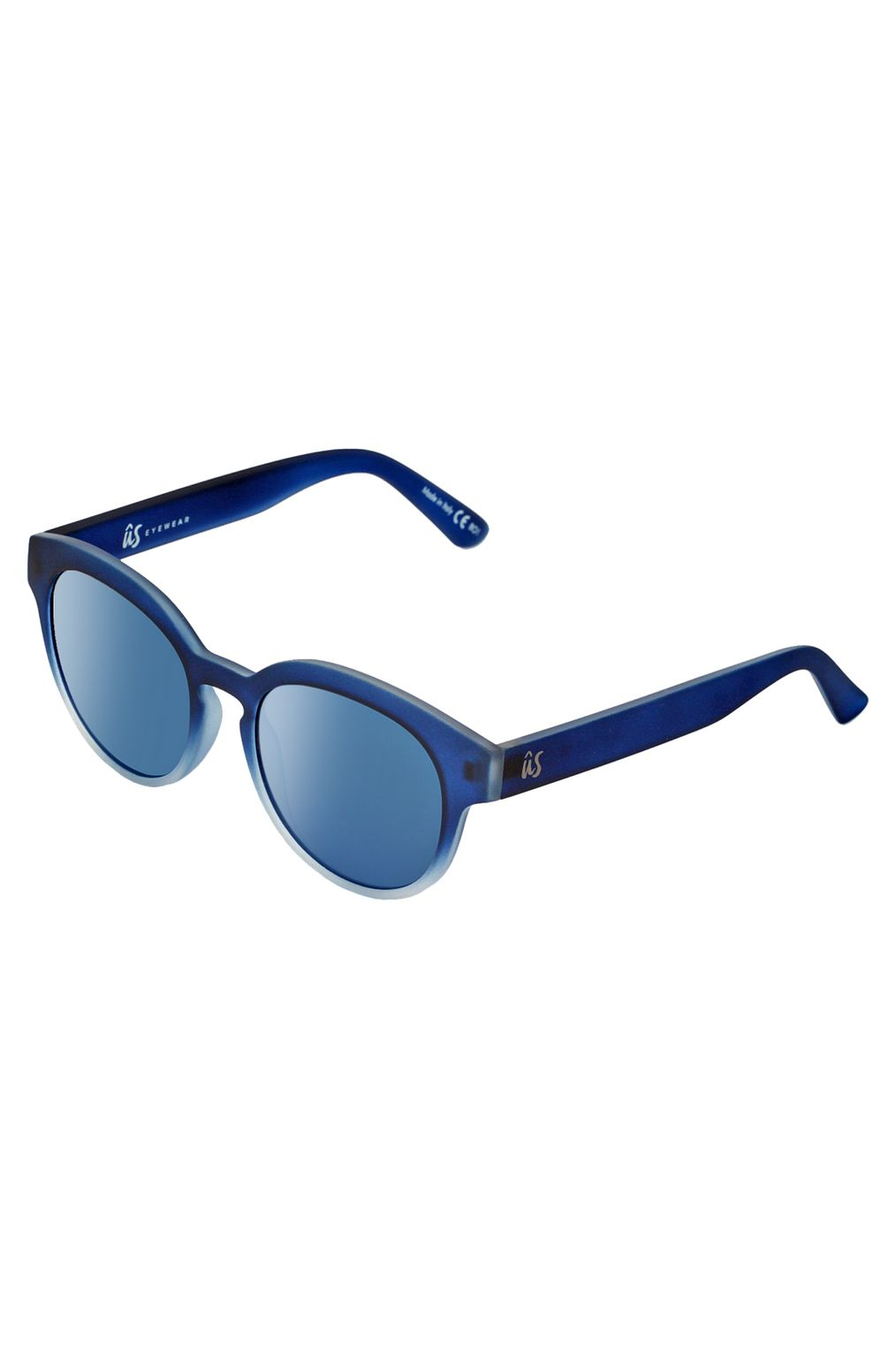 Oculos US NATHI Matte Blue Fade To Crystal/Grey Blue Chrome