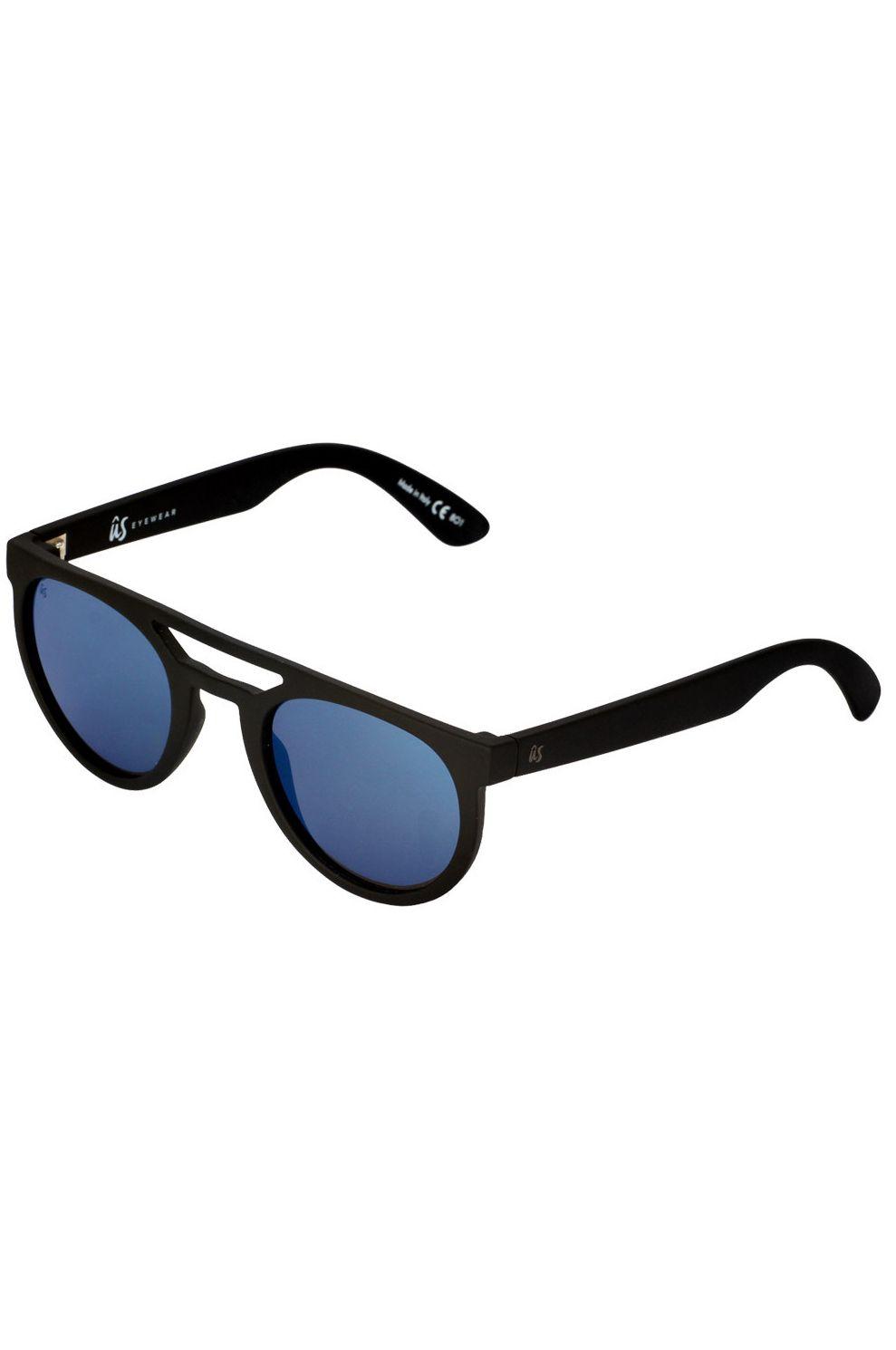 Oculos US NEOS Matte Black/Grey Blue Chrome