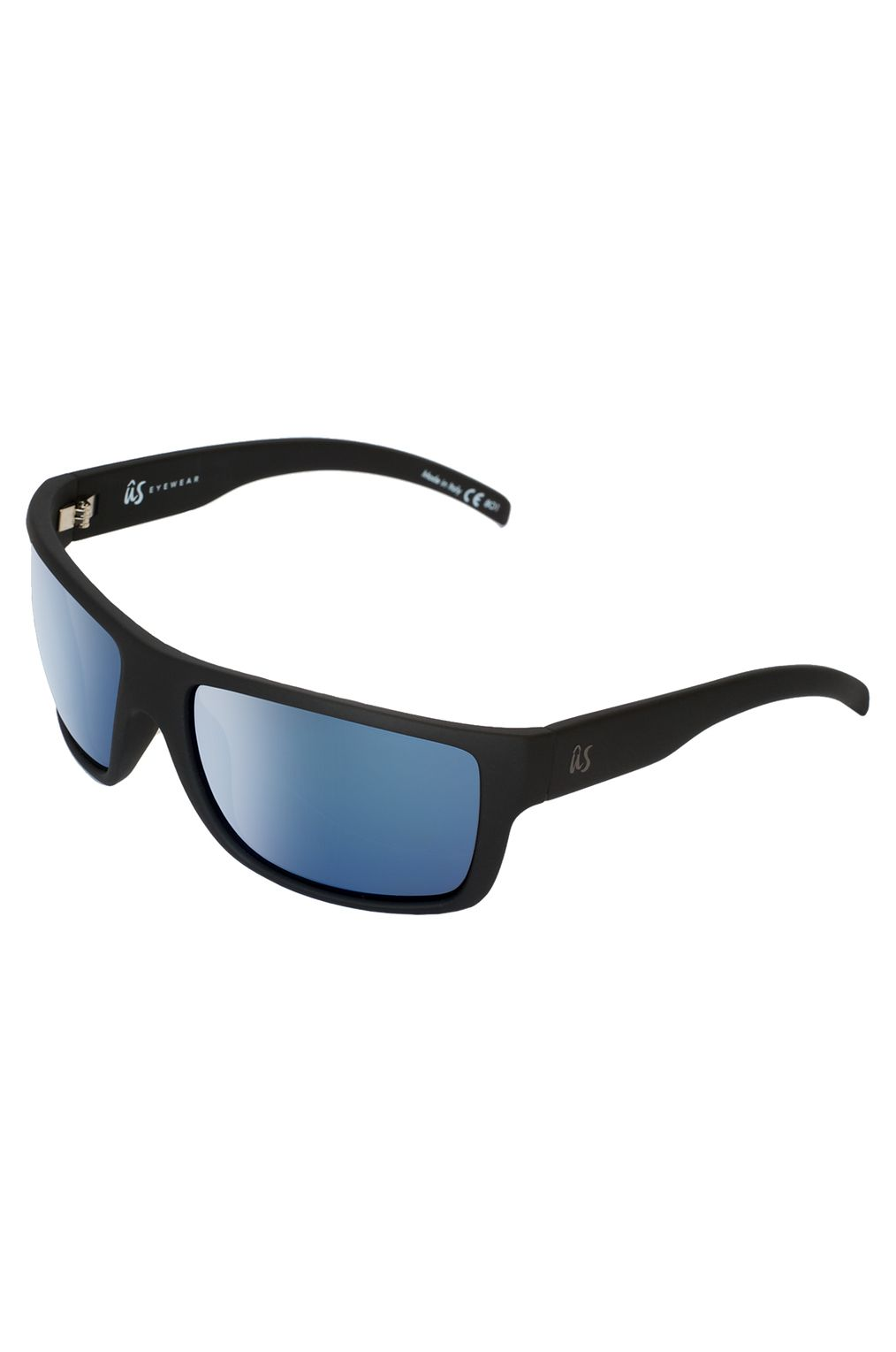 Oculos US TATOU Matte Black/Grey Blue Chrome