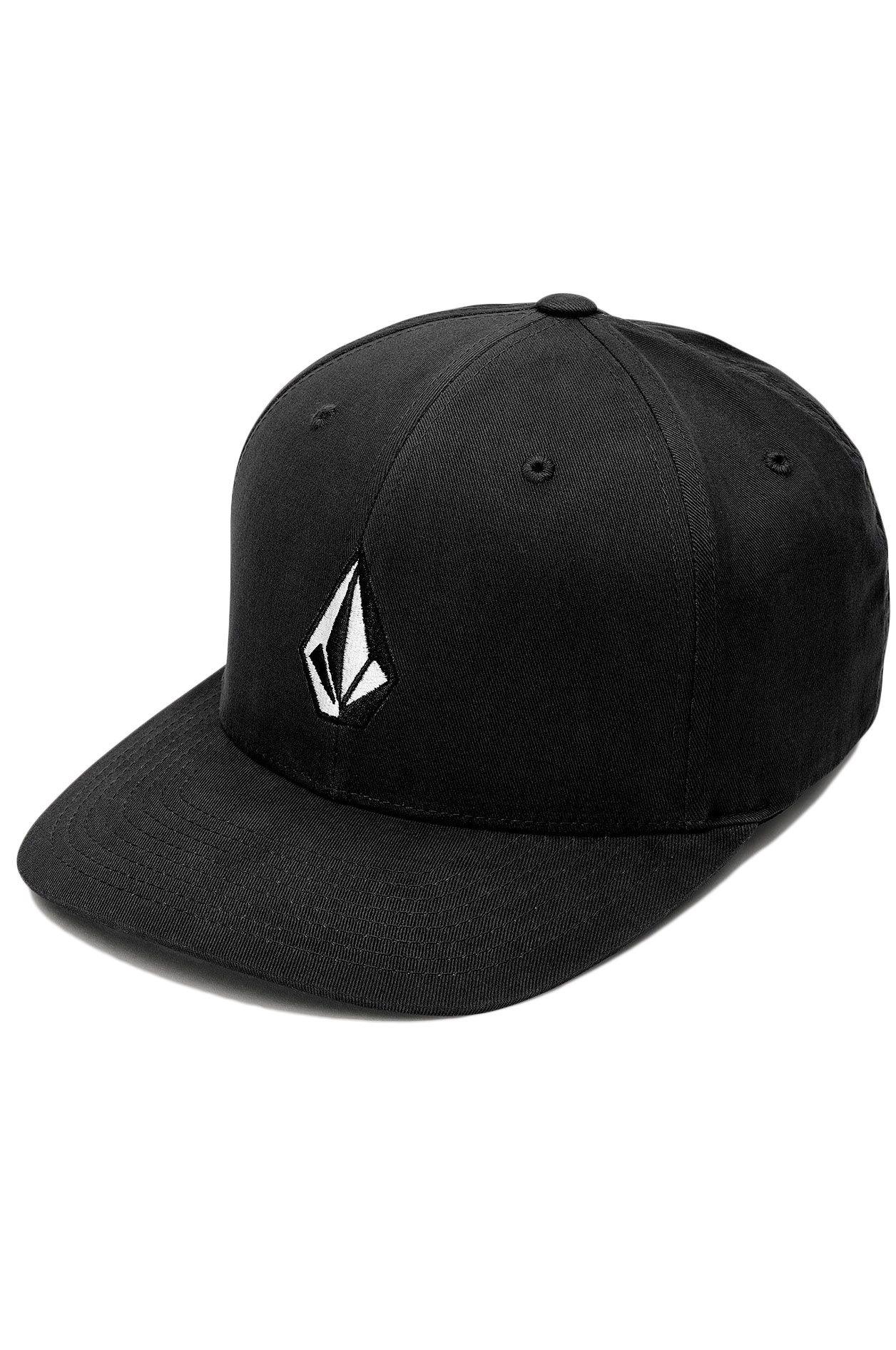 Volcom Cap   FULL STONE XFIT Black