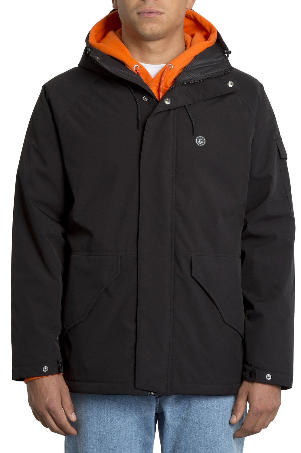 Volcom Jacket SYNTHWAVE 5K Black