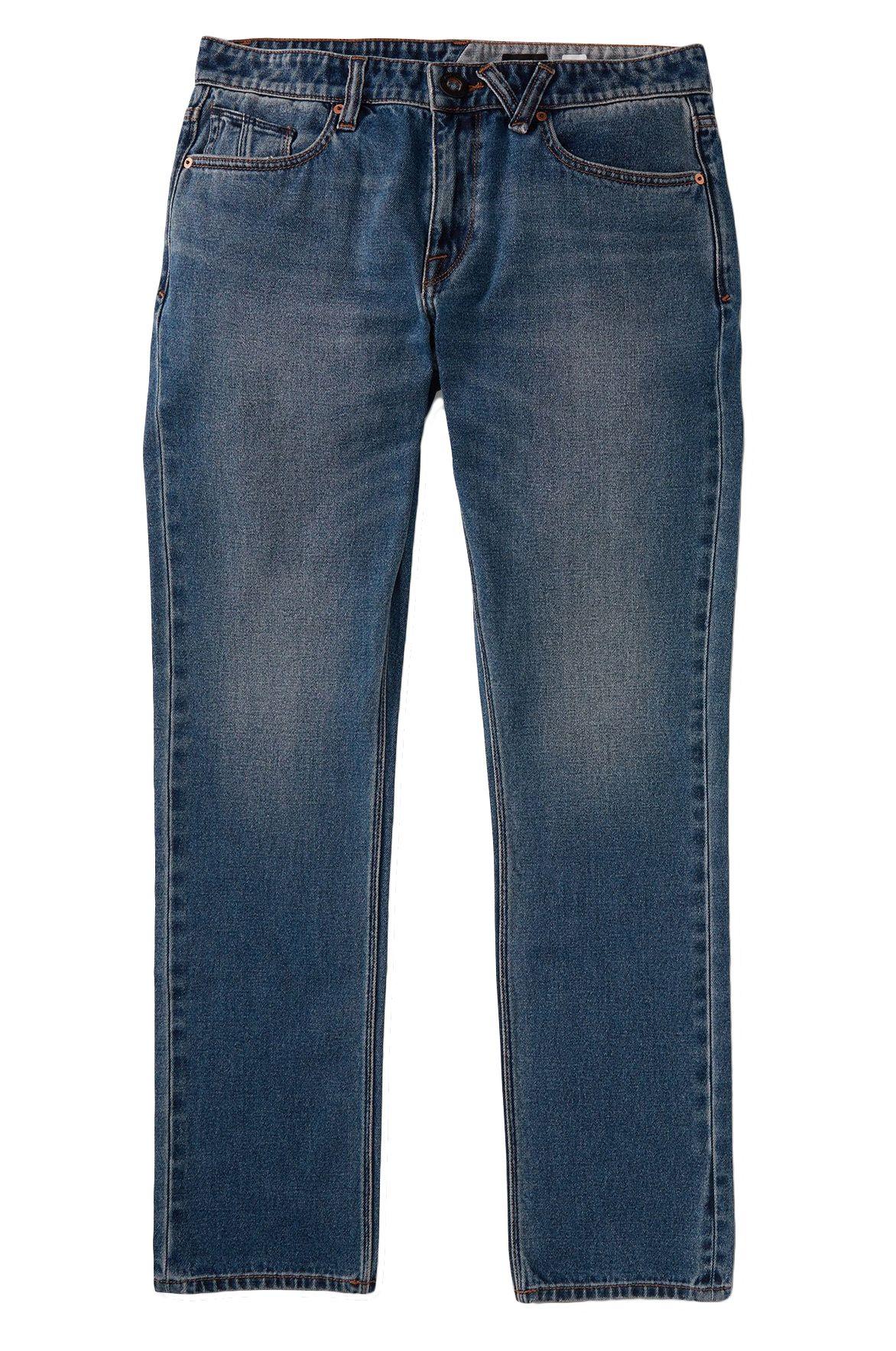 Volcom Pant Jeans VORTA DENIM Middle Broken Blue