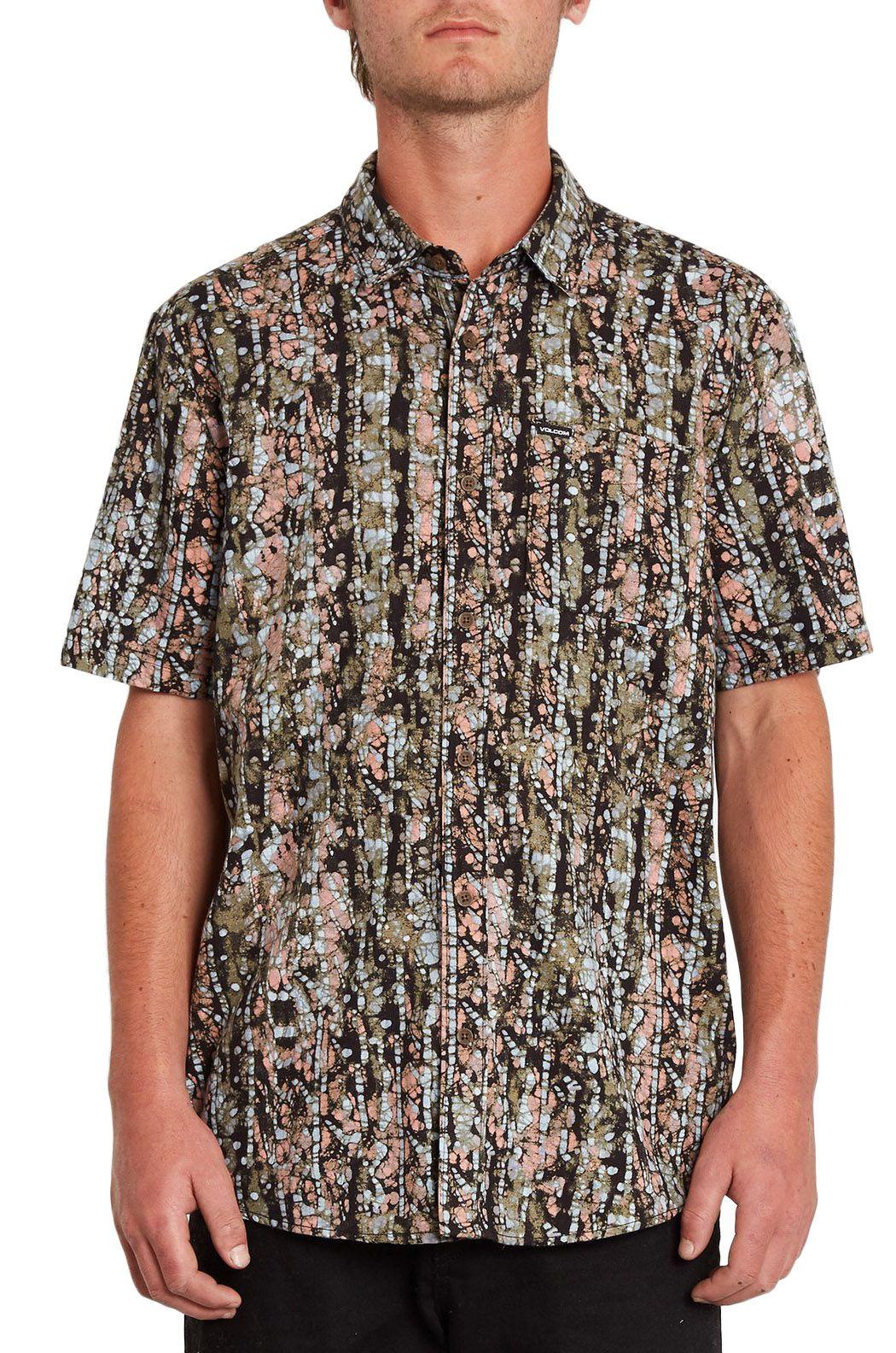 Camisa Volcom STRIVER S/S Old Mill