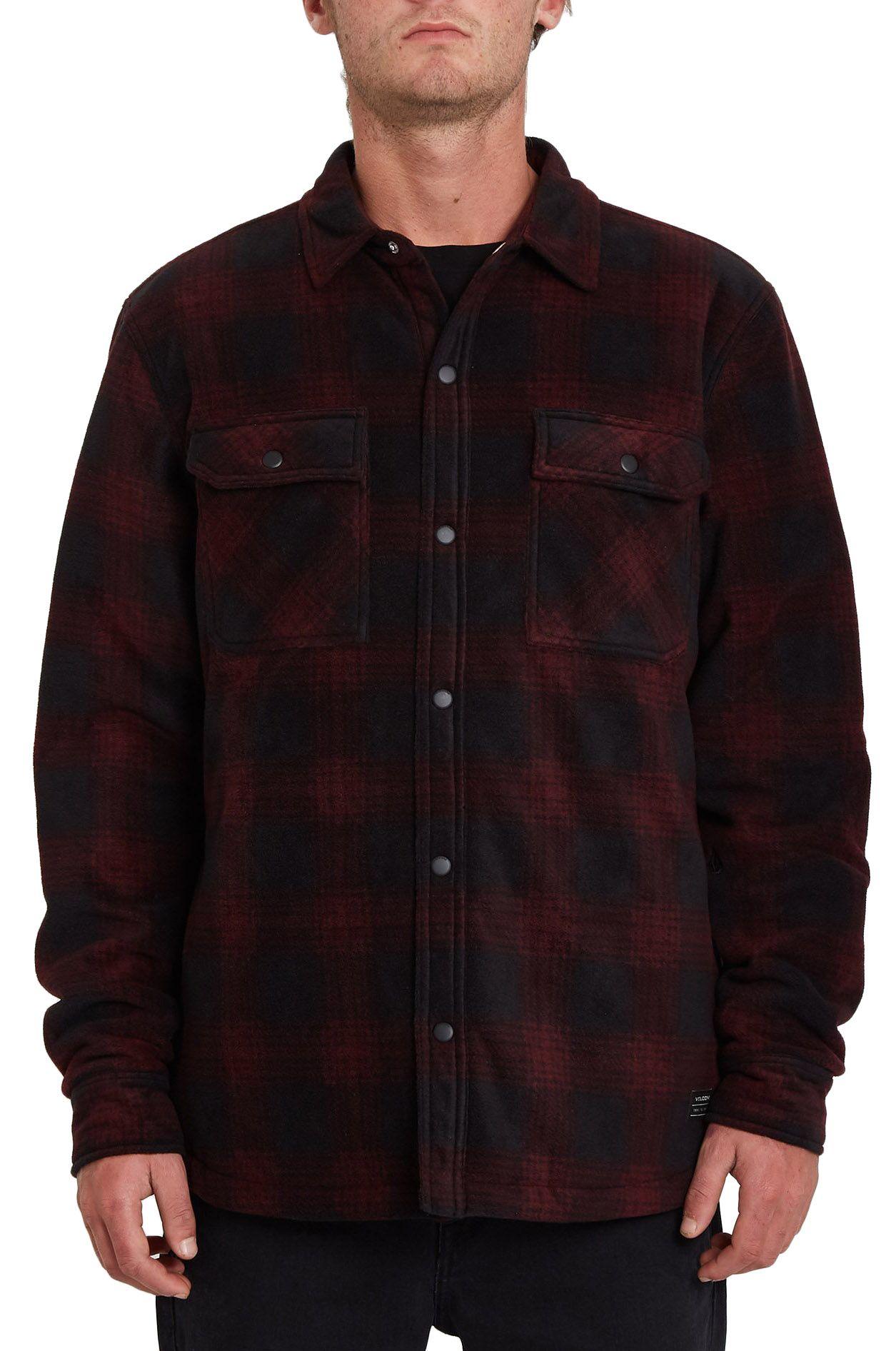 Volcom Shirt BOWERED FLEECE LS Port