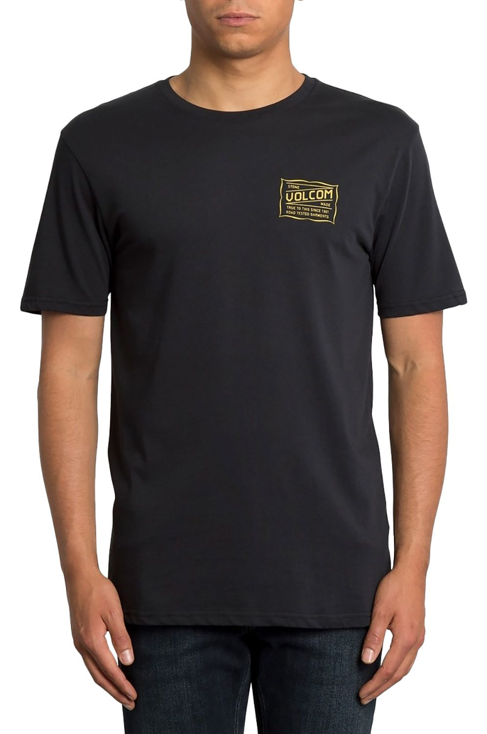 Volcom T-Shirt ROAD TEST BSC Black