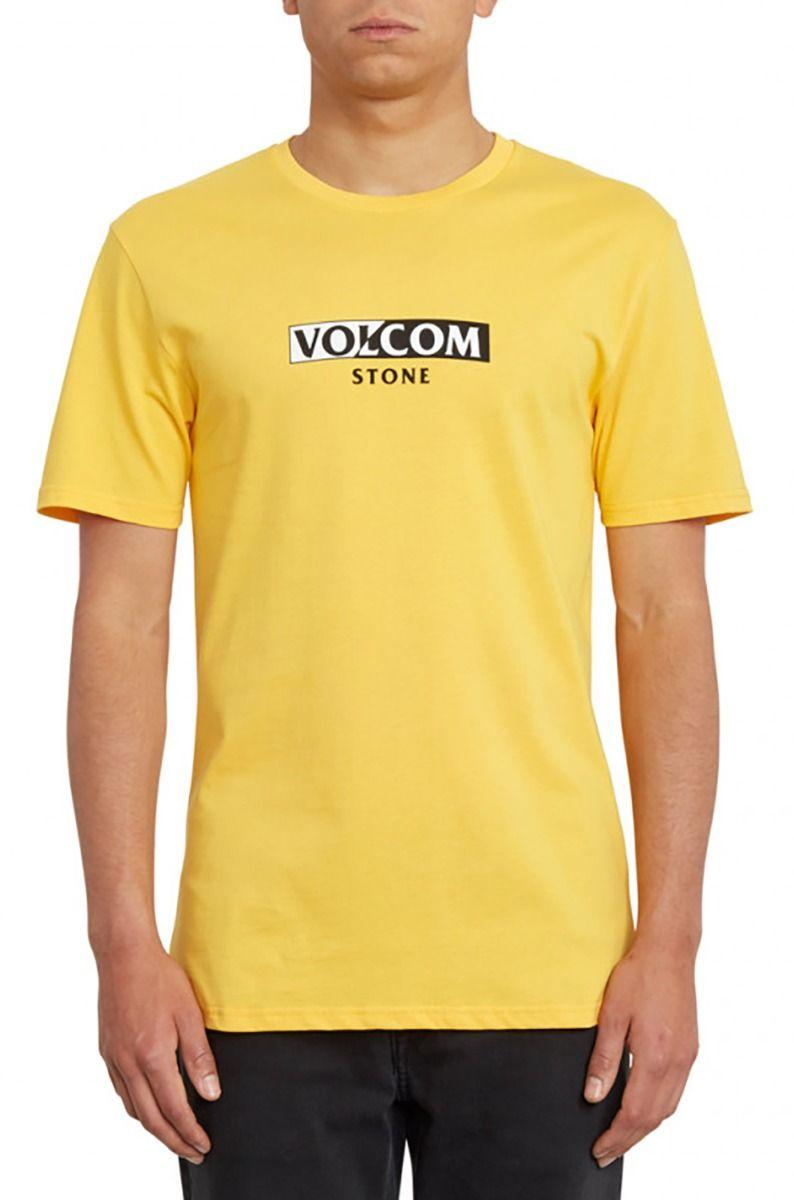 T-Shirt Volcom FOR NEVER BSC Citrus Gold