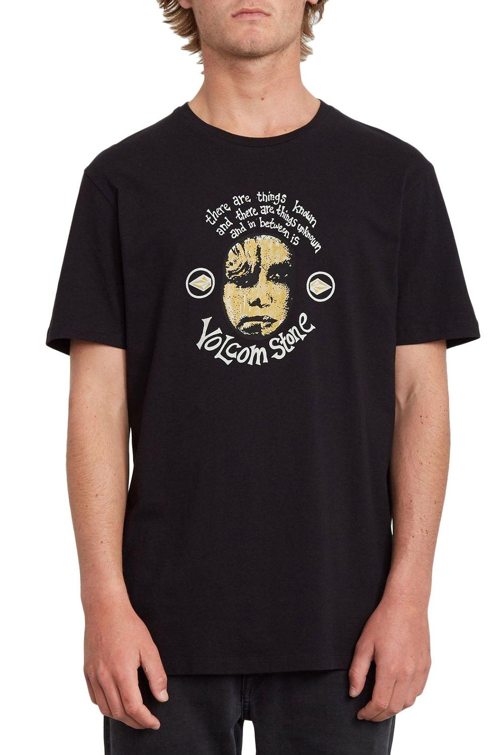 T-Shirt Volcom IN BETWEEN LTW Black