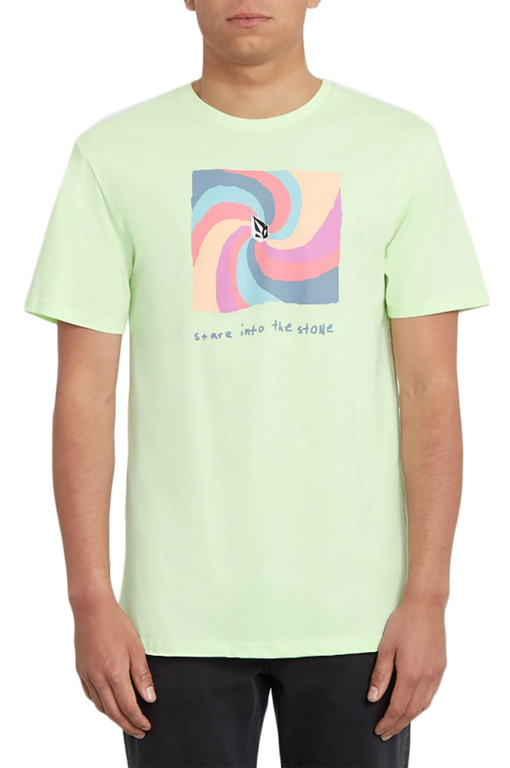 T-Shirt Volcom EARTH PEOPLE BSC Key Lime