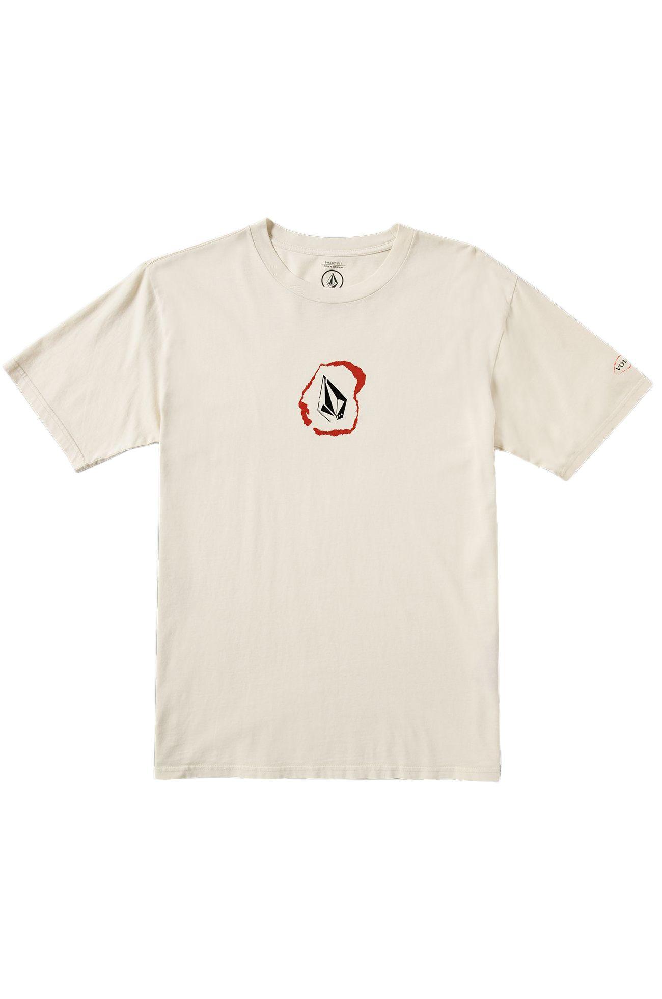T-Shirt Volcom POSTED White Flash