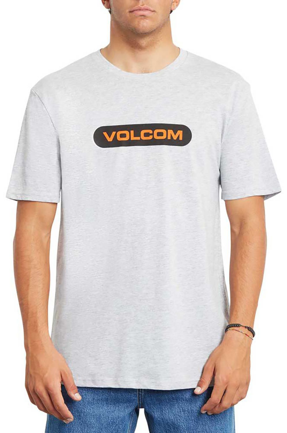T-Shirt Volcom NEW EURO BSC SS Heather Grey