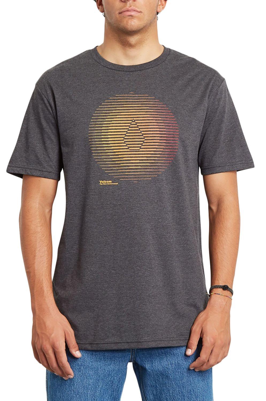 T-Shirt Volcom TREPID HTH SS Heather Black