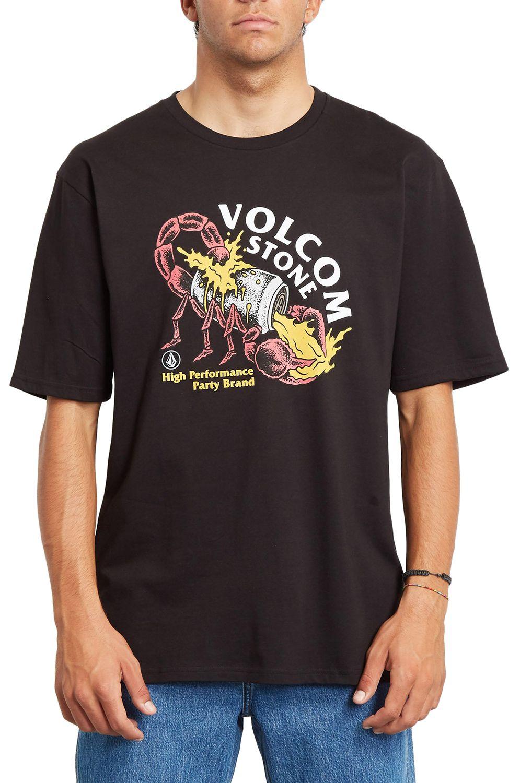 T-Shirt Volcom SCORPS RLX SS Black