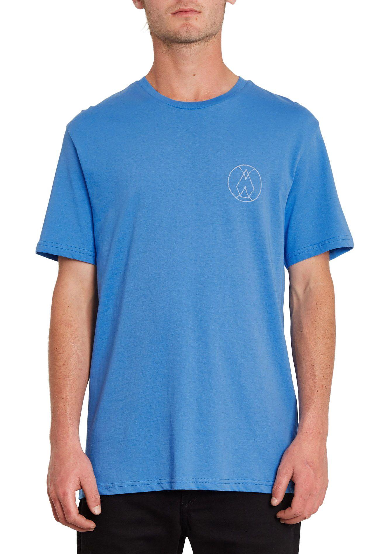 T-Shirt Volcom INNER STONE BSC SS Ballpoint Blue