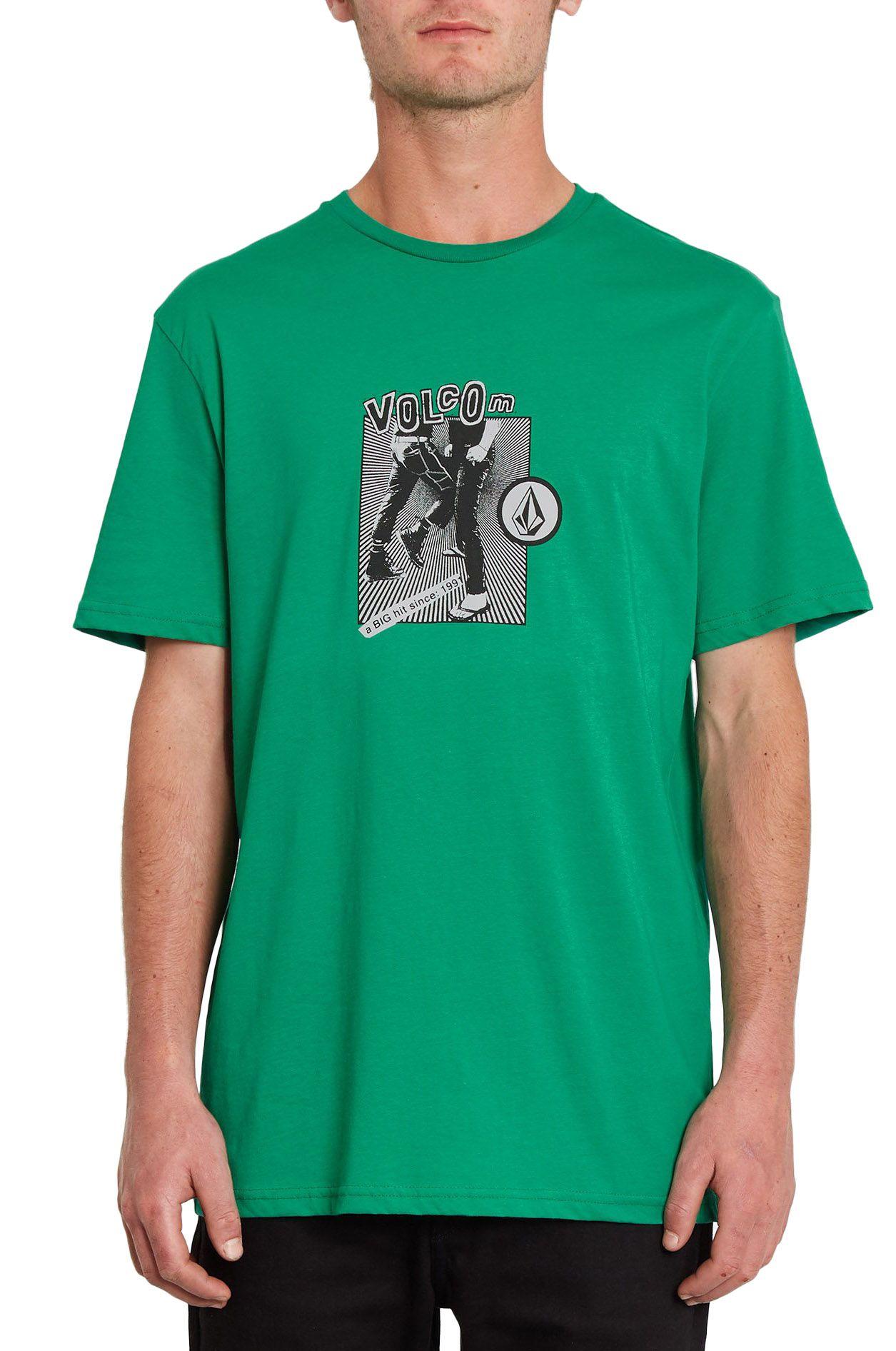 T-Shirt Volcom HITTIN BSC SS Synergy Green