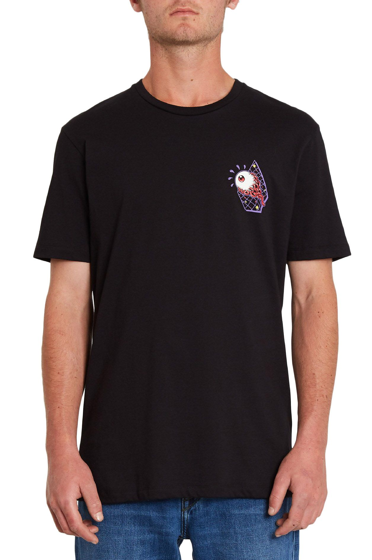 T-Shirt Volcom FREAK CITY FA SS Black