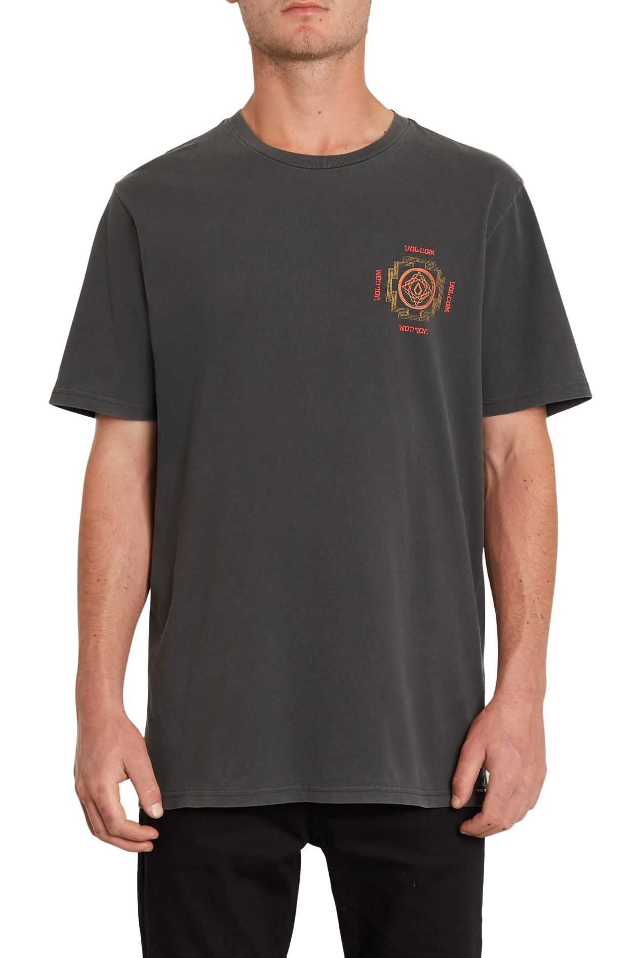 T-Shirt Volcom PSYCHONIC S/S TEE Black