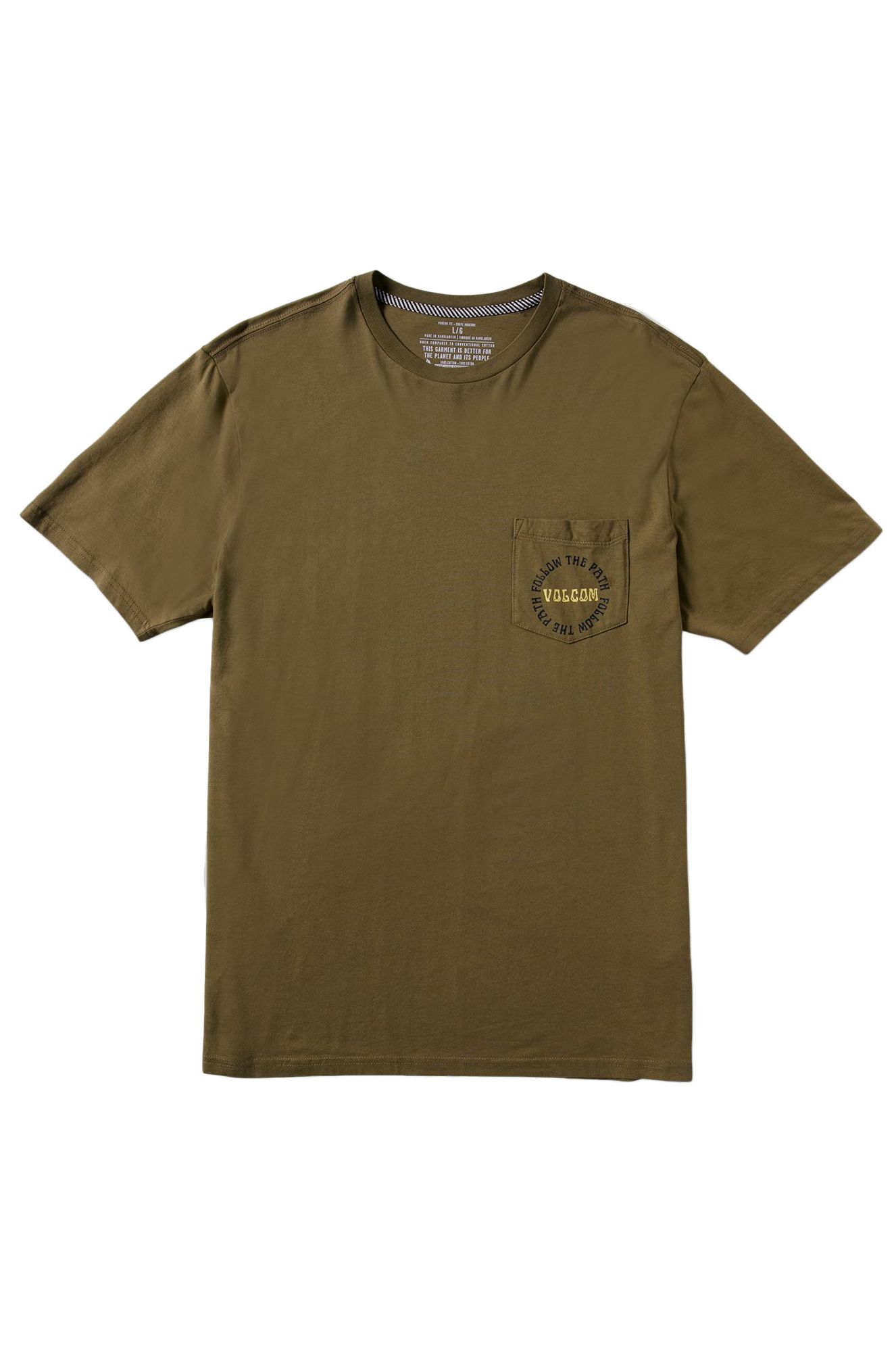 T-Shirt Volcom DITHER S/S TEE Old Mill