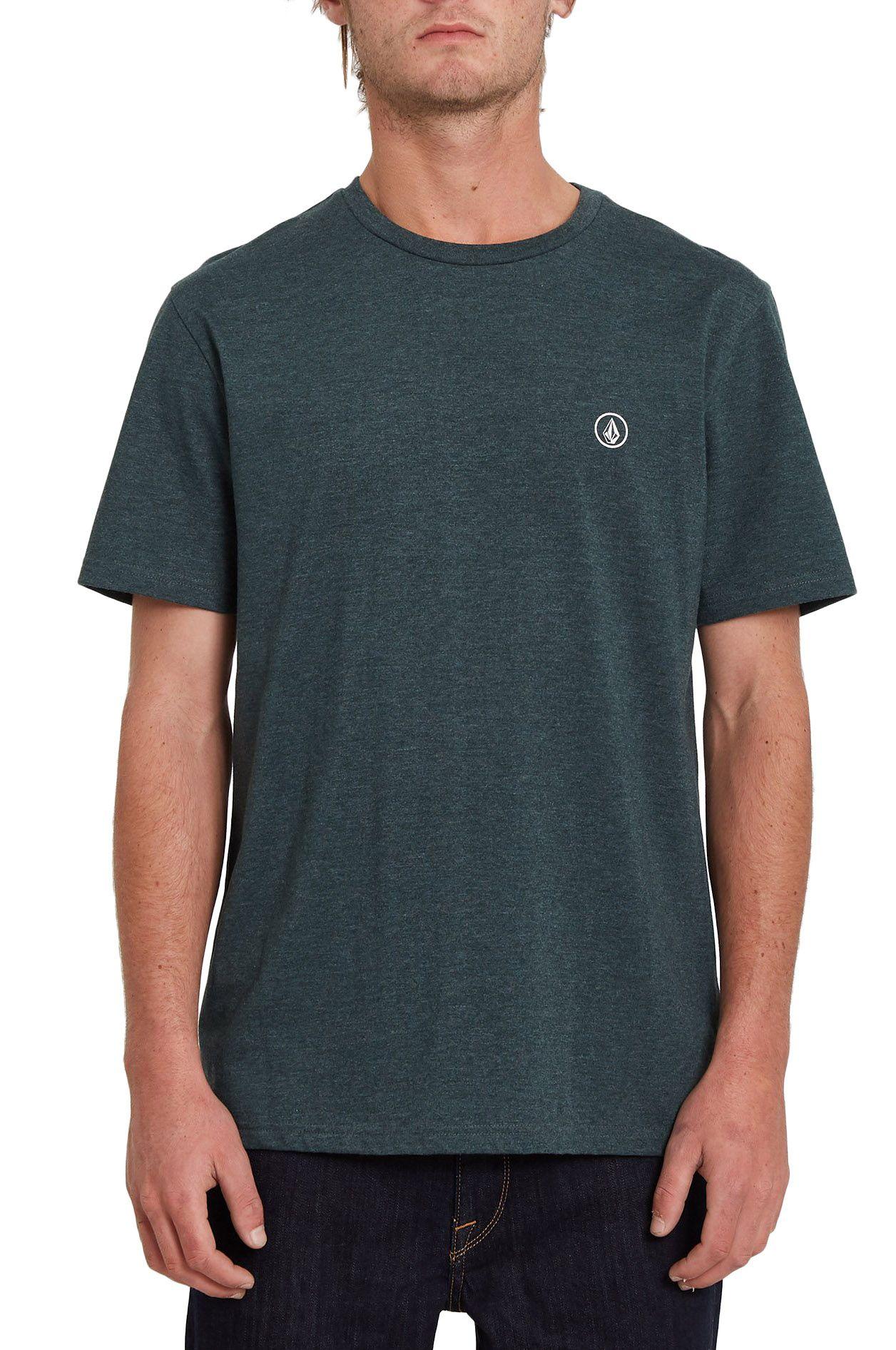 Volcom T-Shirt CIRCLE BLANKS HTH Scarab