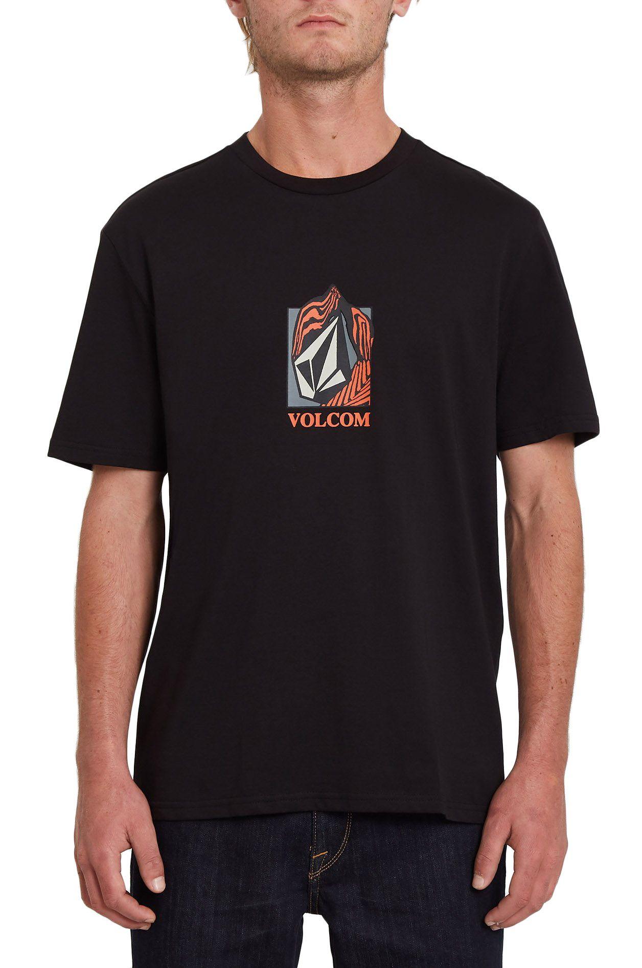 T-Shirt Volcom CROSTIC BSC SS Black
