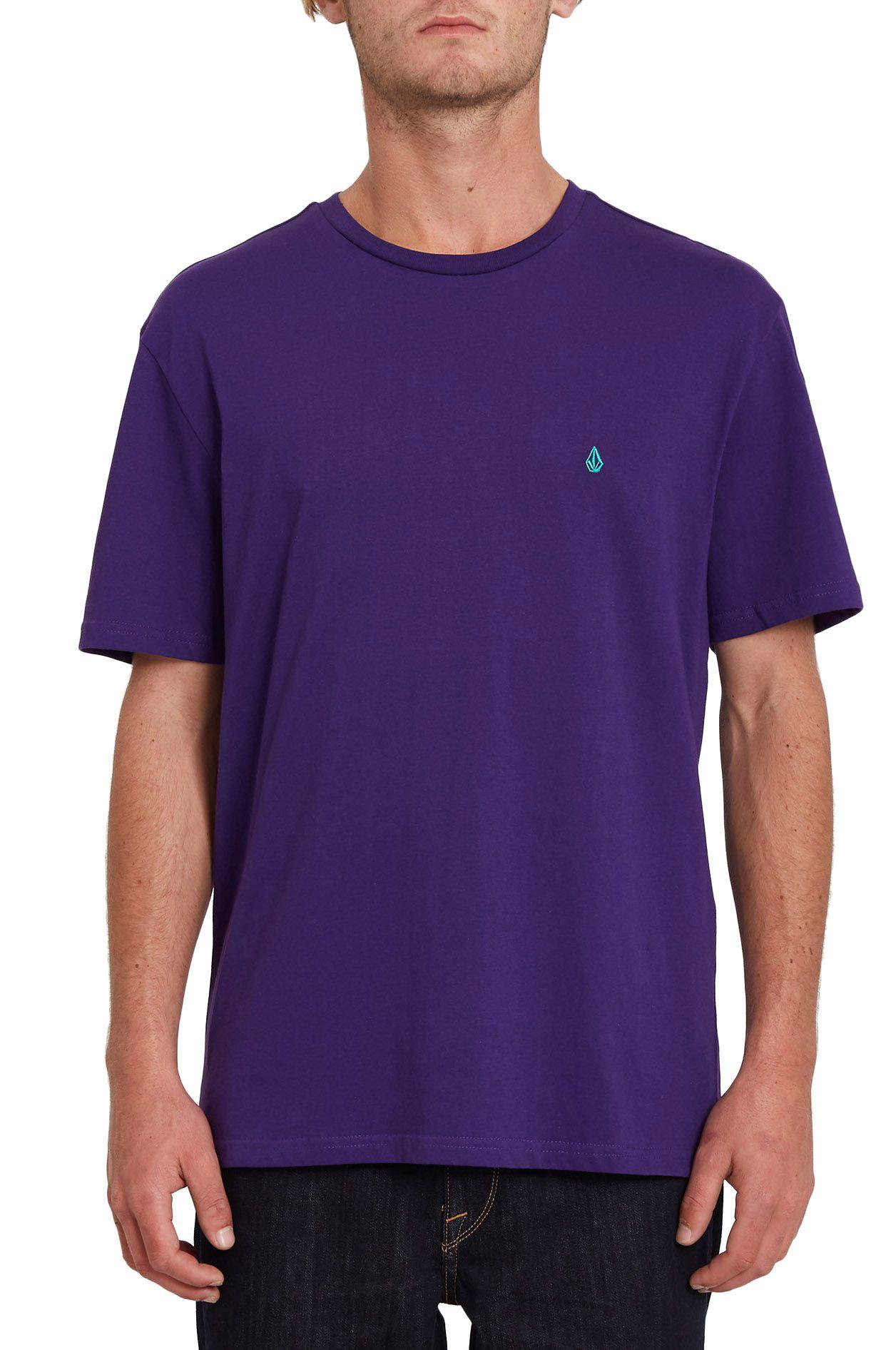 Volcom T-Shirt STONE BLANKS BSC Violet Indigo