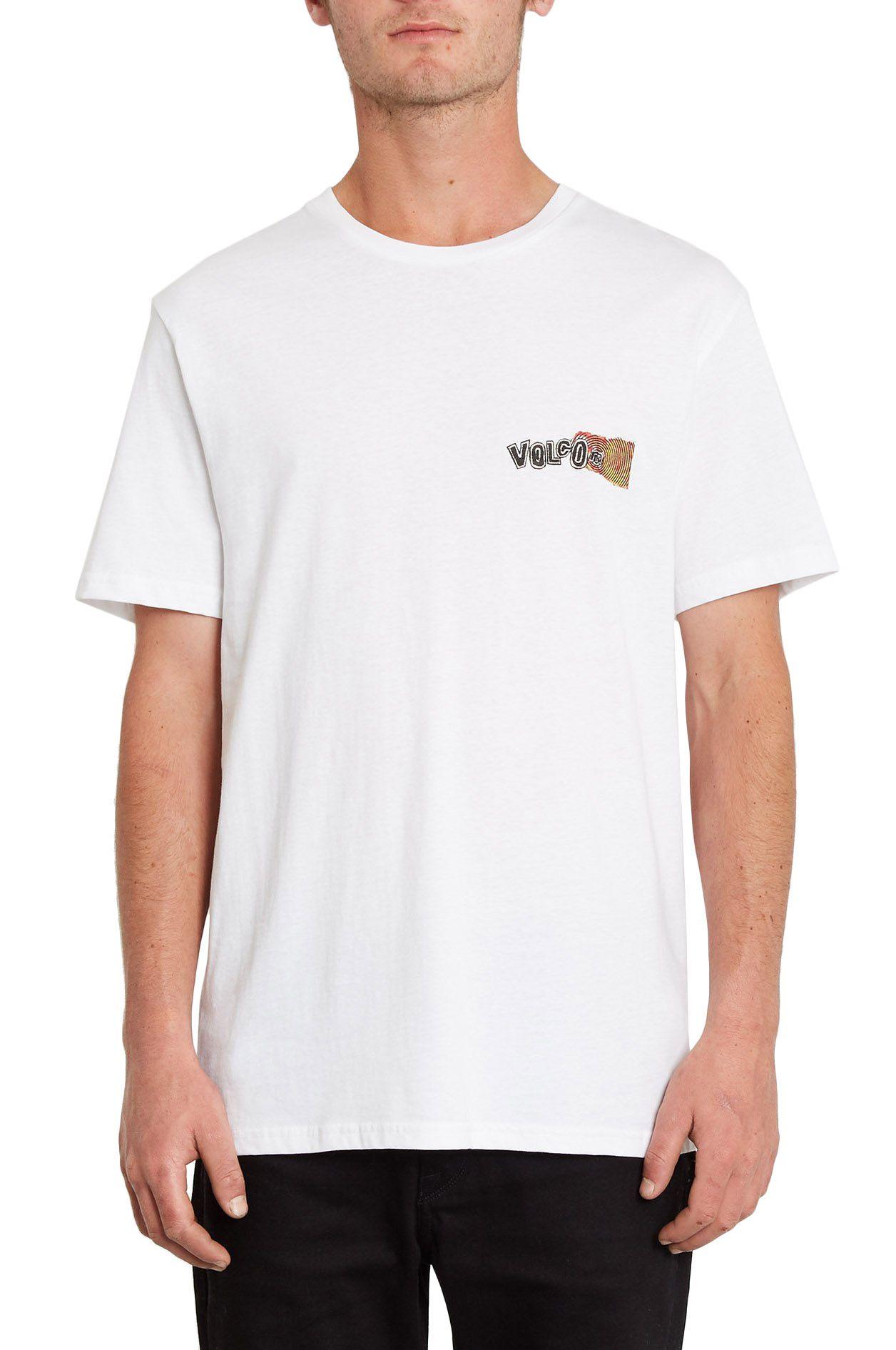 T-Shirt Volcom WORLDS COLLIDE BSC SS White