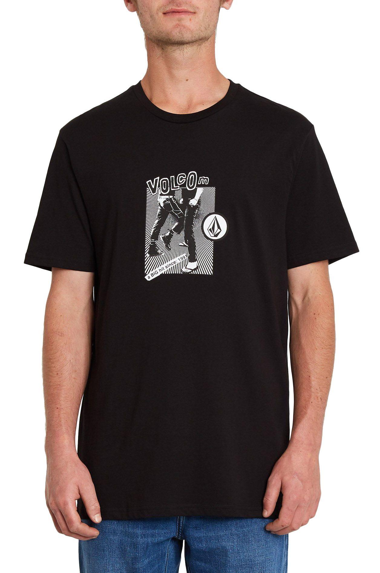 T-Shirt Volcom HITTIN BSC SS Black