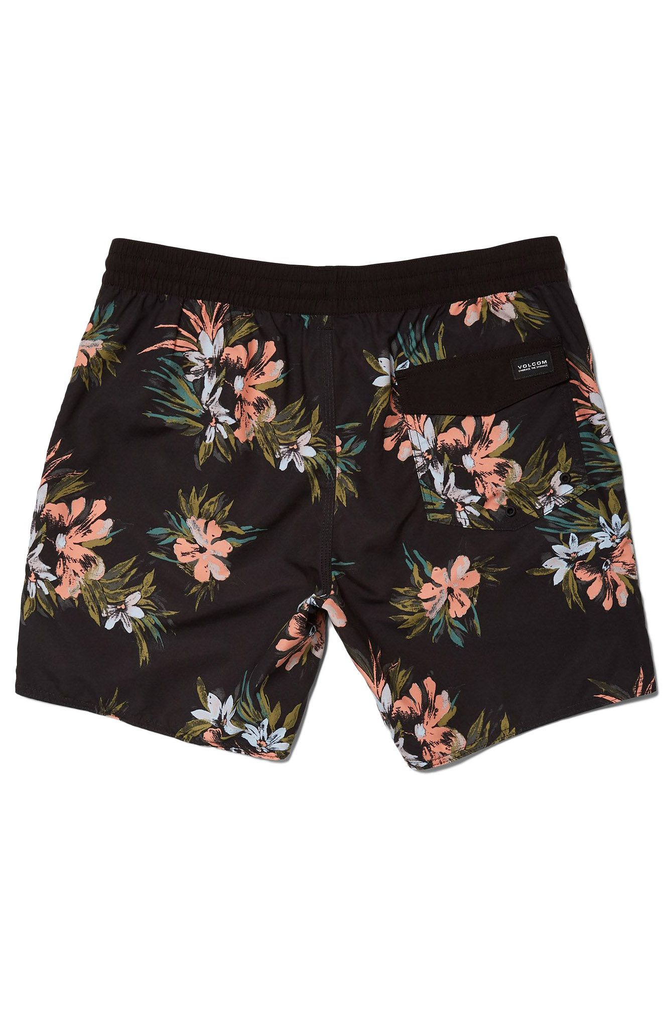 Volleys Volcom EARTHLY DELIGHT TRUNK 17 Black