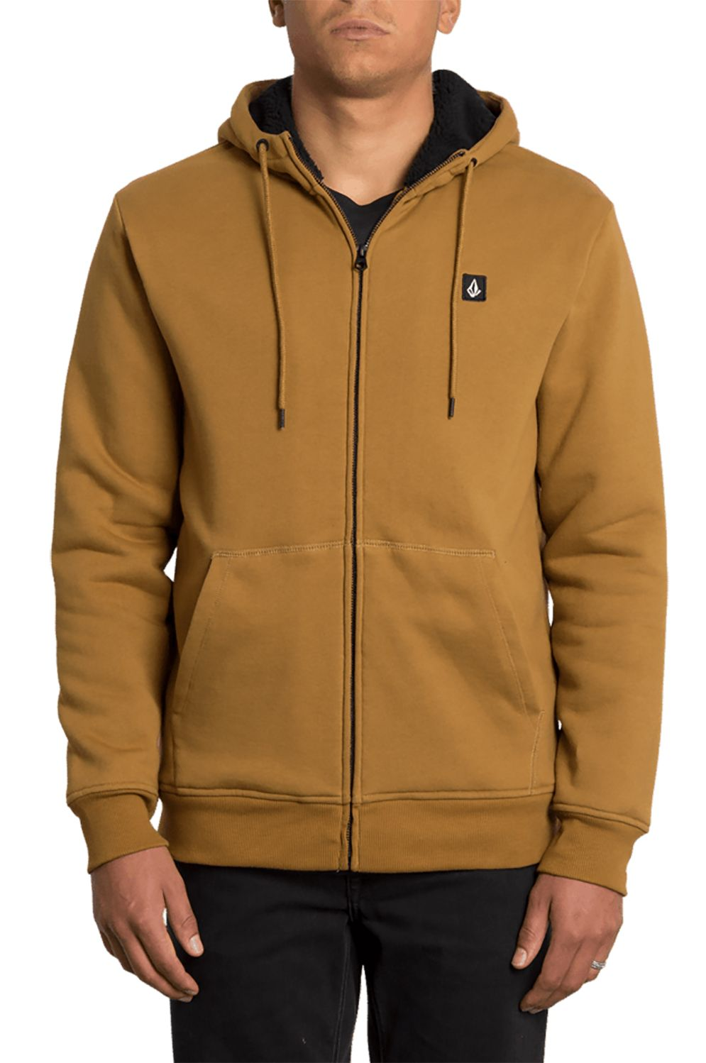 Sweat Sherpa Volcom SNGL STN LINED Rust