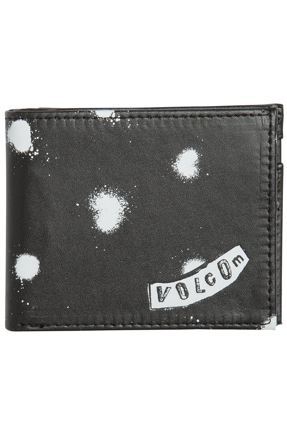 Volcom Wallet PU  EMPTY PU Black