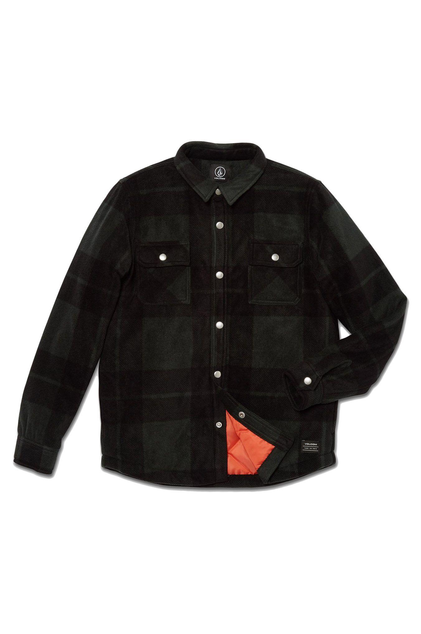 Volcom Shirt BOWERED FLEECE LS Scarab