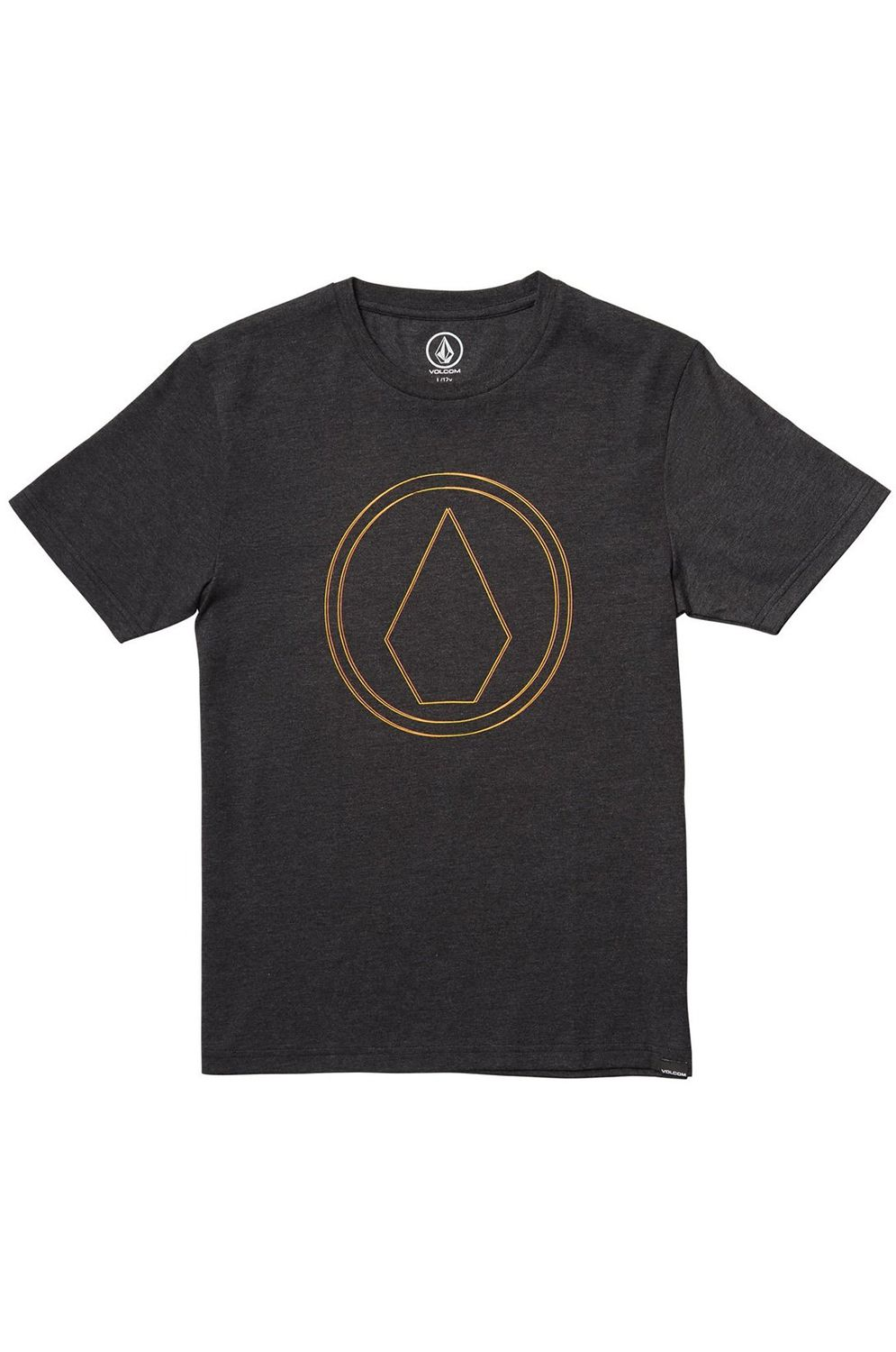 T-Shirt Volcom PINNER HTH Heather Black