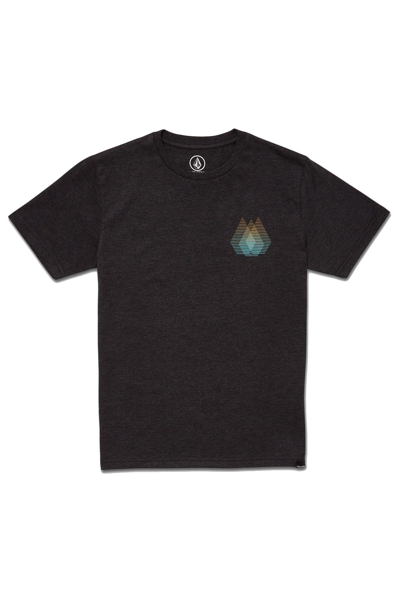 Volcom T-Shirt BLYNDER HTH SS Heather Black