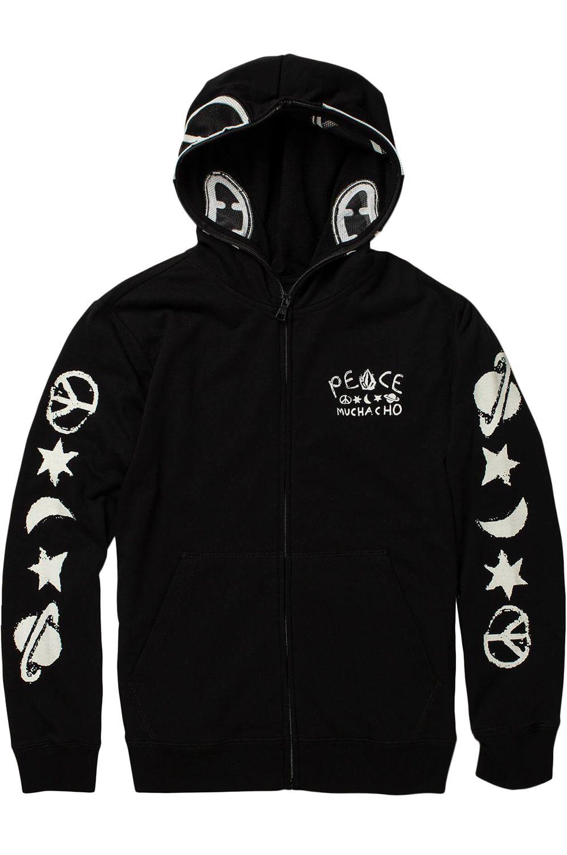 Sweat Fecho Volcom SPACE ALIEN Black
