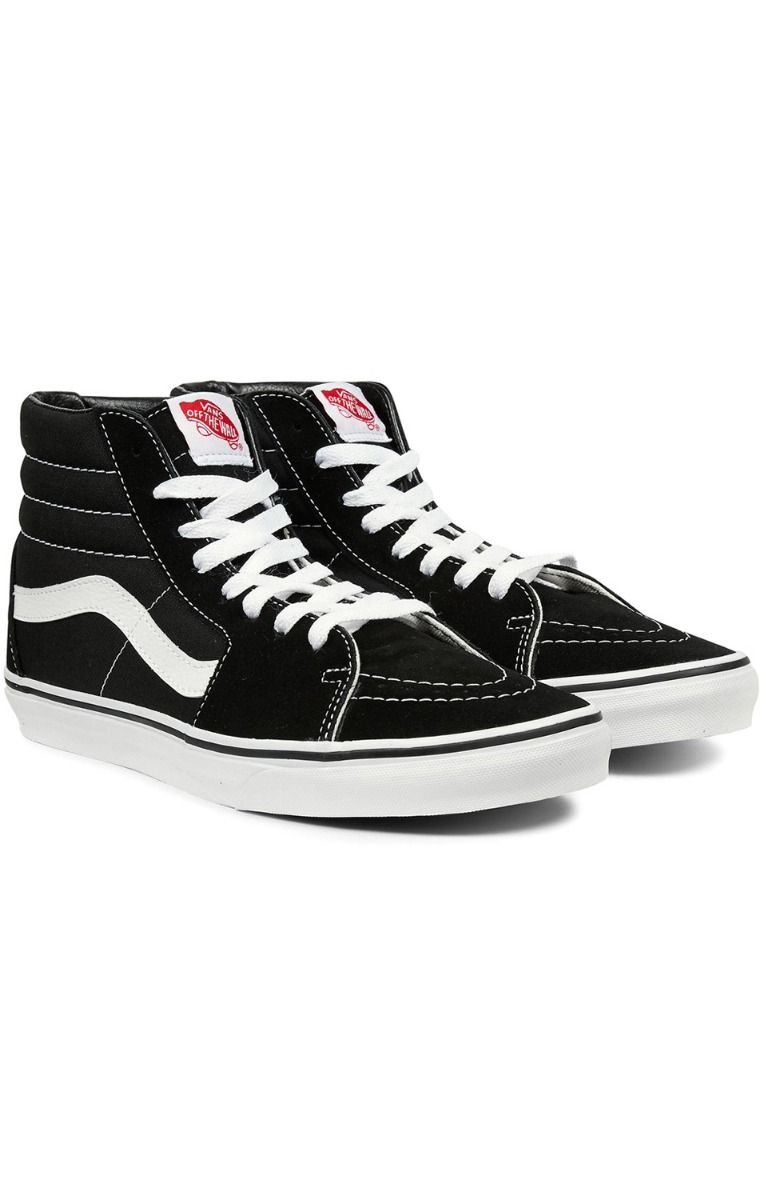 Tenis Vans SK8-HI Black/Black/White