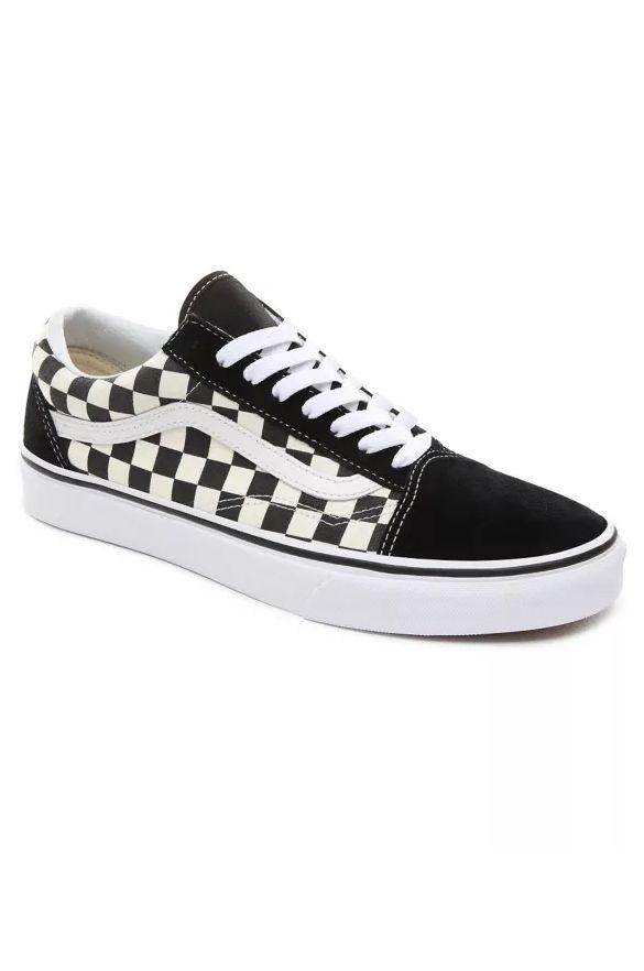 Vans Shoes OLD SKOOL (Primary Check) Black/White