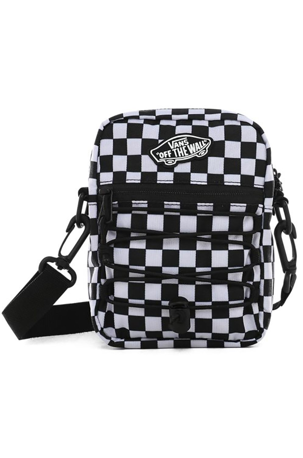 Vans Waist Bag STREET READY II CROSSBODY Black/White Checkerboard