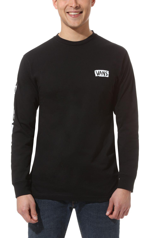 Vans L-Sleeve SCRATCHED VANS Black