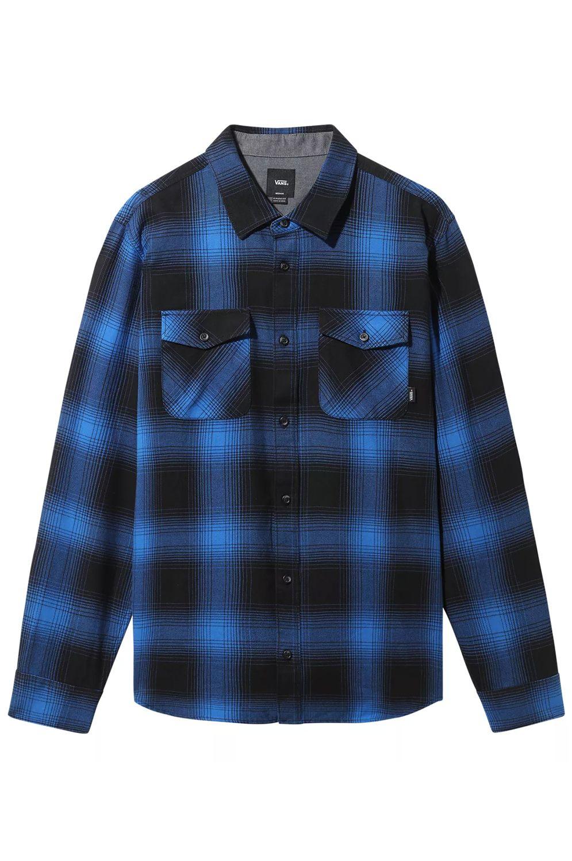 Vans Shirt MONTEREY III Black-Victoria Blue