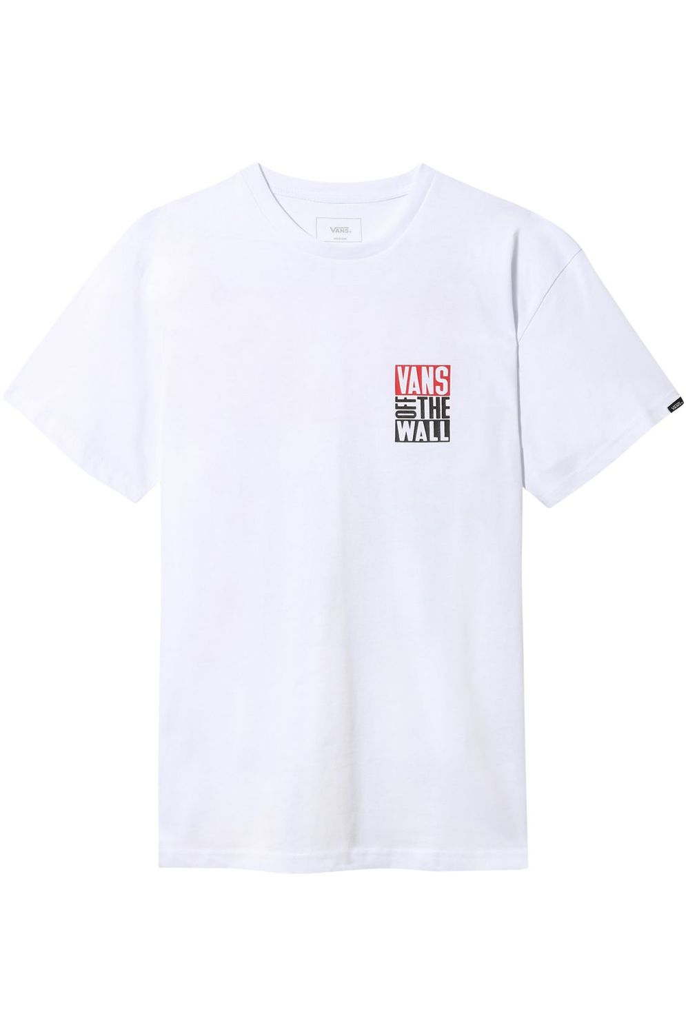 Vans T-Shirt NEW STAX White