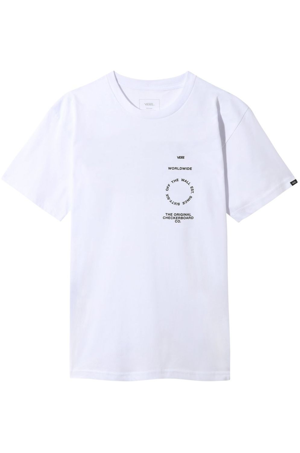 Vans T-Shirt DISTORTION TYPE White