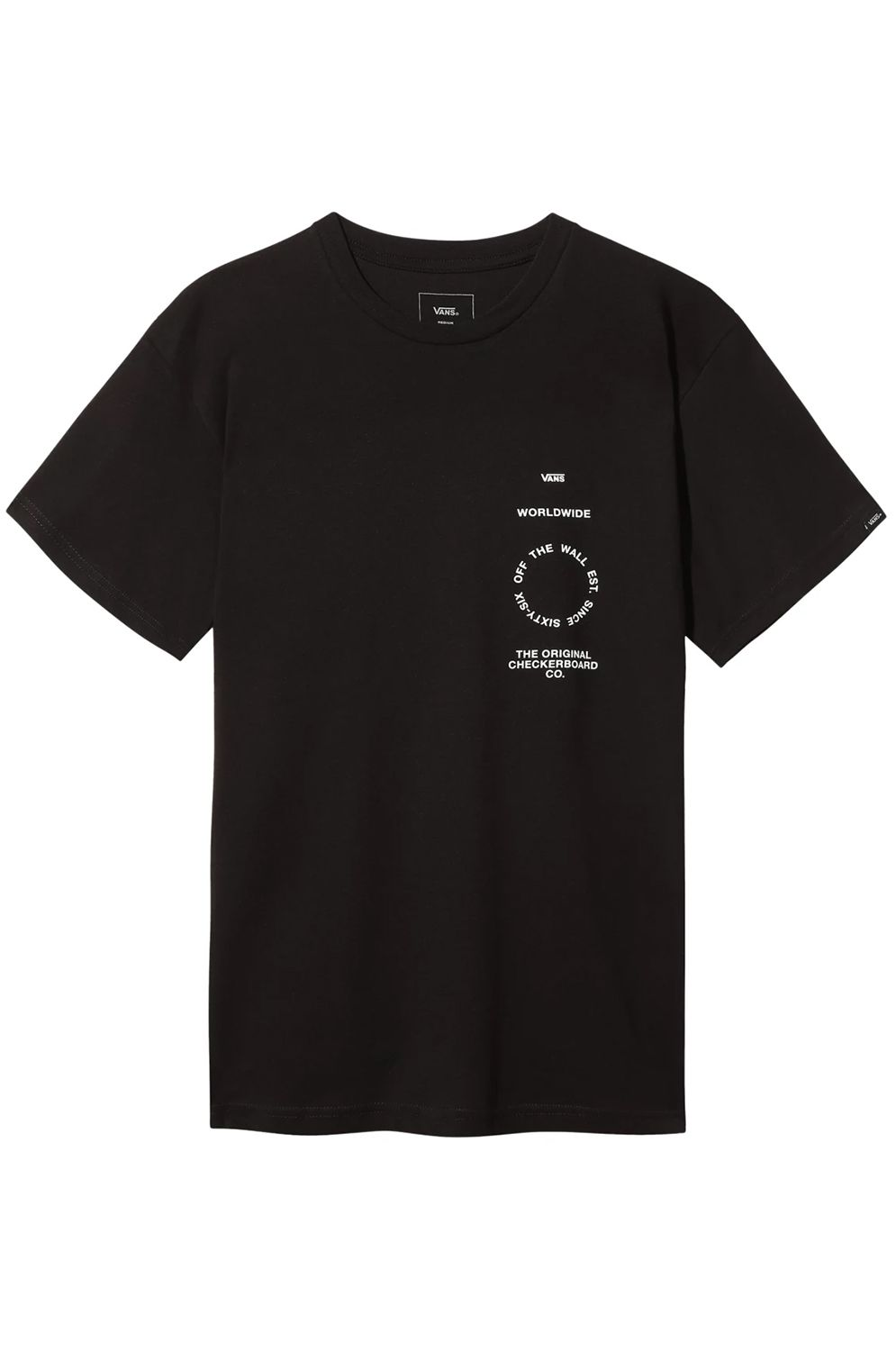 Vans T-Shirt DISTORTION TYPE Black