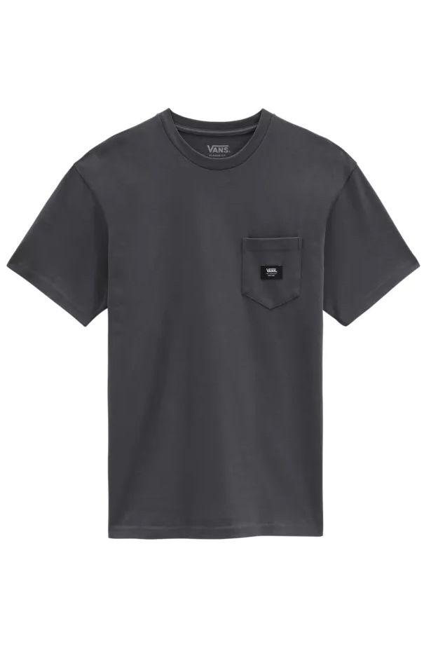 Vans T-Shirt WOVEN PATCH POCKET M Asphalt